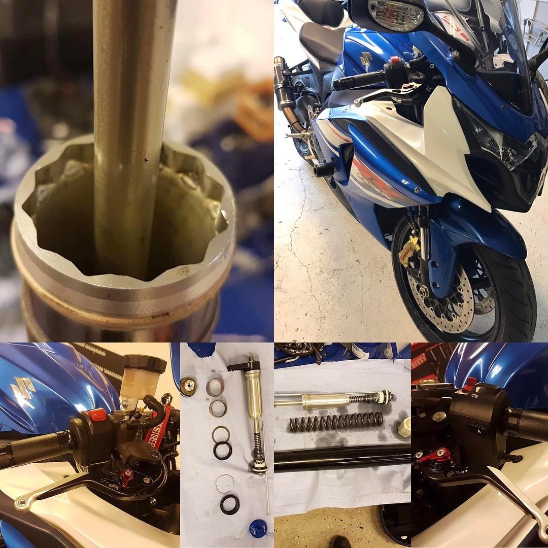 trimming av motorsykkel